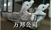 堆焊耐磨:布料溜槽